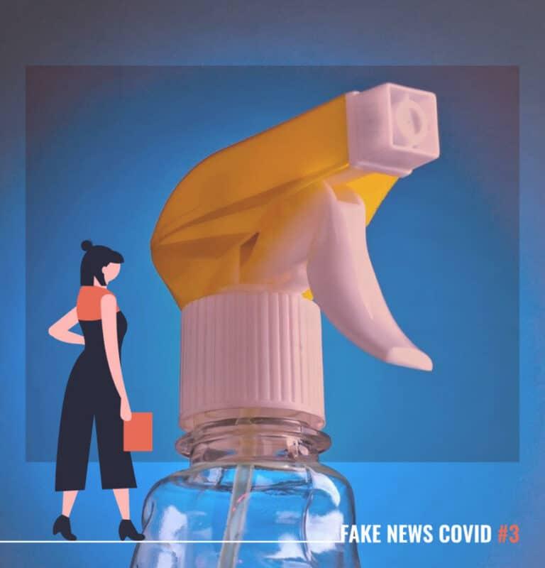 Fake News Covid-19 #3 – Eau de javel et désinfectants