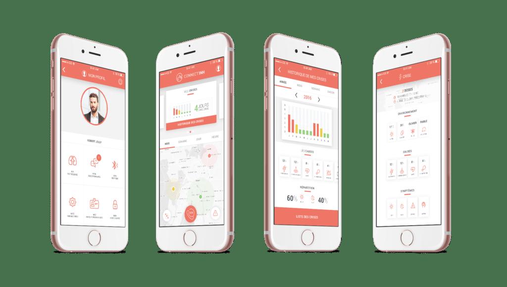 Connect'inh - La première solution connectée, personnalisée et communautaire dédiée à l'asthme et la BPCO