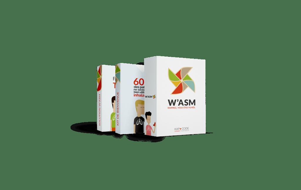 W'asm - Pour faciliter le suivi des patients asthmatiques