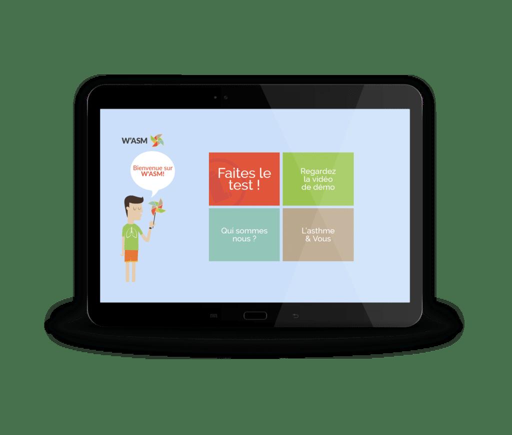 W'asm - Premier programme d'accompagnement personnalisé pour l'amélioration des connaissances des patients asthmatiques
